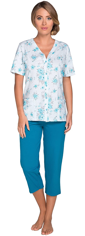 TALLA S. Italian Fashion IF Pijama Camiseta y Pantalones Mujer H2Dw3G 0225