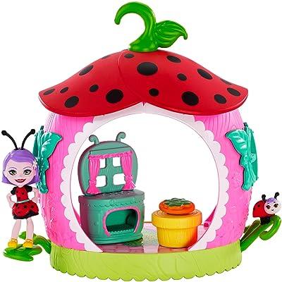 Enchantimals Teeny Kitchen Playset with Ladelia Ladybug Doll: Toys & Games