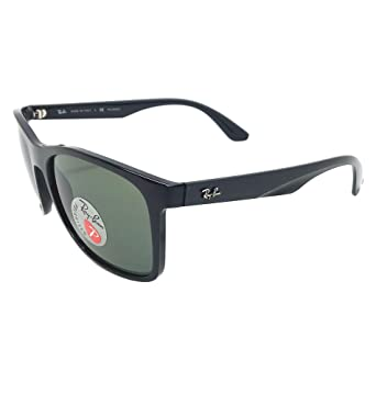 6c3d76da32 Amazon.com  New Ray Ban RB4232 601 9A Black  Green Classic 57mm Polarized  Sunglasses  Clothing
