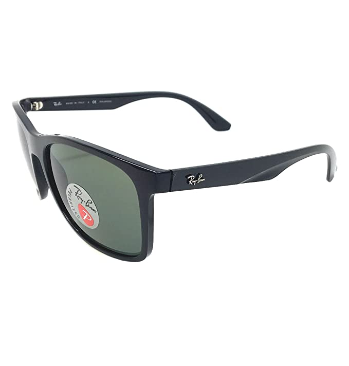 7ae03a8102 New Ray Ban RB4232 601 9A Black  Green Classic 57mm Polarized Sunglasses
