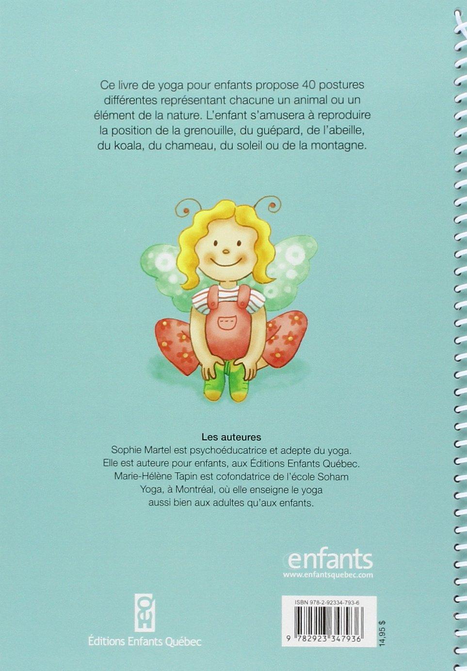 Mon premier livre de yoga: Amazon.es: Sophie Martel, Marie ...