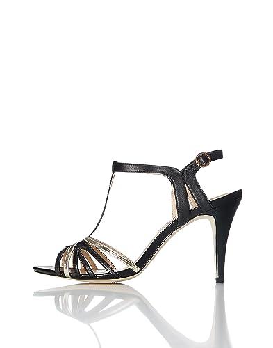 d119ad820191f7 find. Sandales Bicolores à Talons Femme: Amazon.fr: Chaussures et Sacs