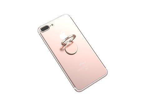 Kronya® | 360° drehbarer Smartphone Fingerhalter | Case Finger Griff Halter Halterung Handy Hülle Ring Ringhalter Ständer Tab