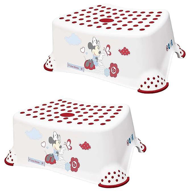 1 opinioni per Disney baby bambino & Toddler step sgabelli 14cm/14cm rosa o bianco plastica