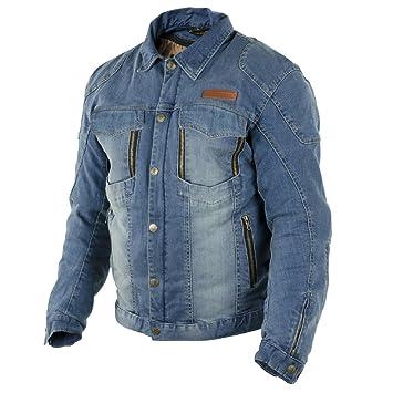 efed2f199 Amazon.fr : Trilobite Parado veste en jean moto pour homme