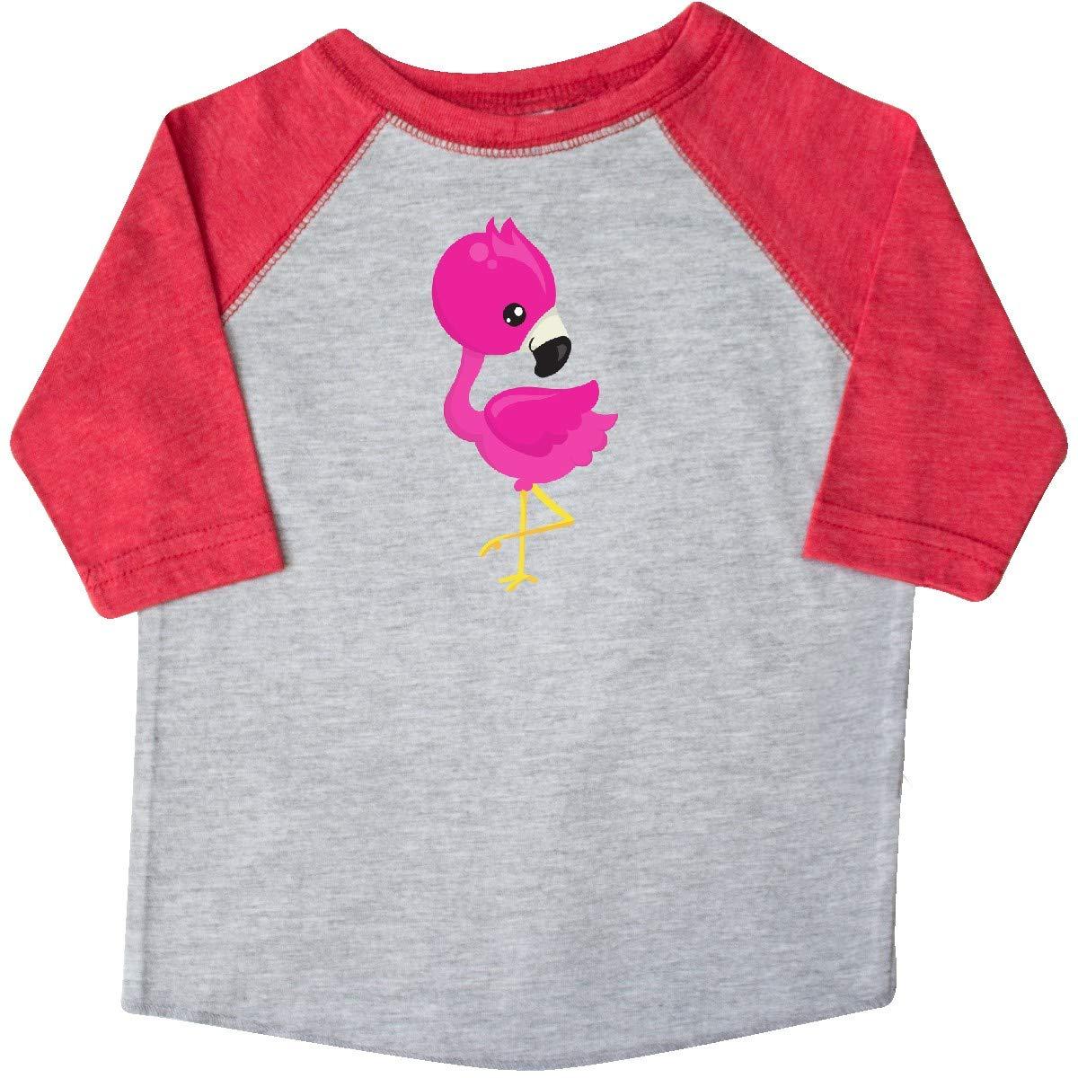 inktastic Pink Flamingo Baby Flamingo Cute Flamingo Toddler T-Shirt