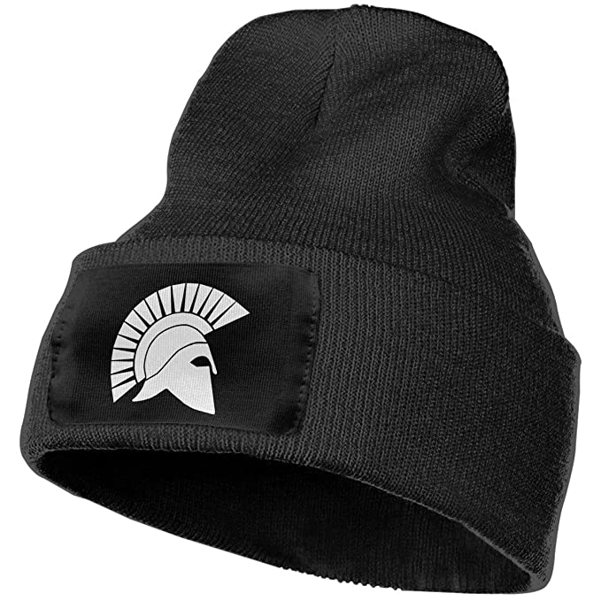 Spartan Helmet Adult Knit Cap Winter Unisex Skull Hat Beanie Hat at ... 03cbf8a288e