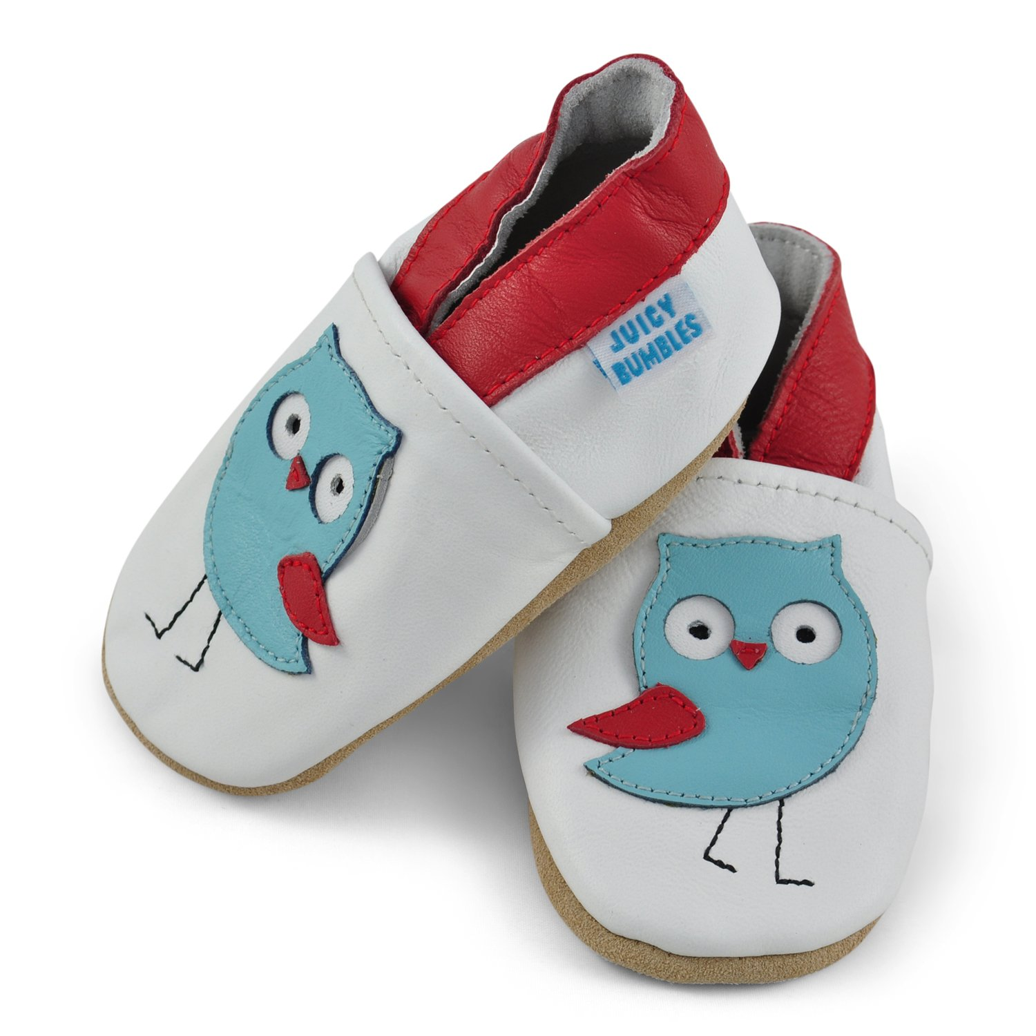 Beautiful Soft Leather Baby Shoes Toddler Shoes with Suede Soles