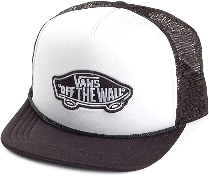 Gorra Trucker Classic Patch de Vans Hats - Blanco-Negro ...