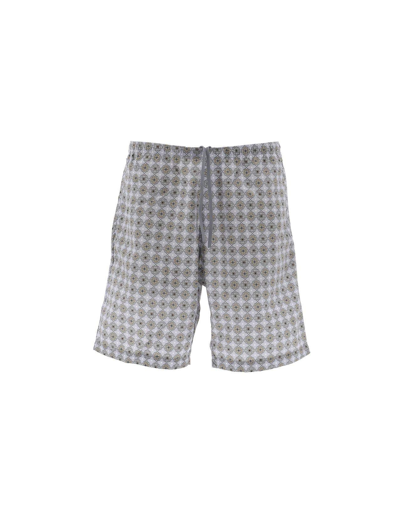 NEEDLES Men's Ej059bltgry Grey Nylon Trunks by NEEDLES (Image #1)