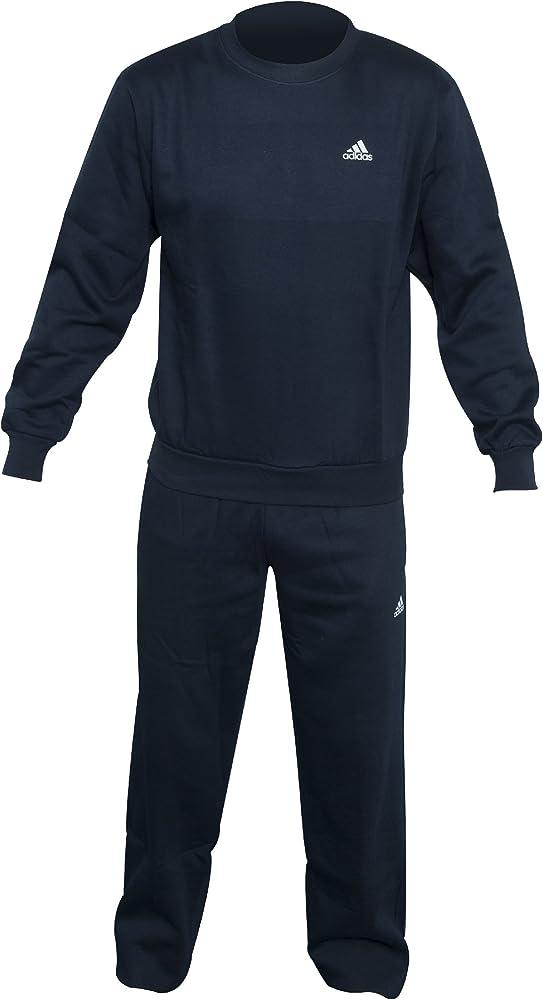 adidas Hombres de la BC algodón Chándal, Hombre, Color Azul Marino ...