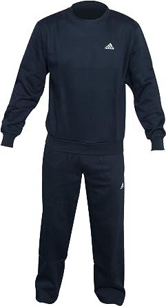 diseñador equilibrar fondo de pantalla  adidas Hombres de la BC algodón Chándal, Hombre, Color Azul Marino, tamaño  XXL: Amazon.es: Ropa y accesorios