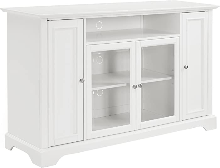 Crosley Furniture Campbell 60-inch TV Stand - White