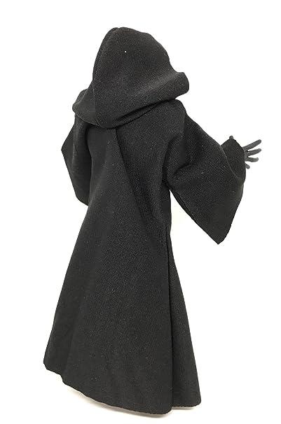 "FIGLot Black Fabric Cloak Robe for 6/"" Star Wars Figures MY-R-BK"