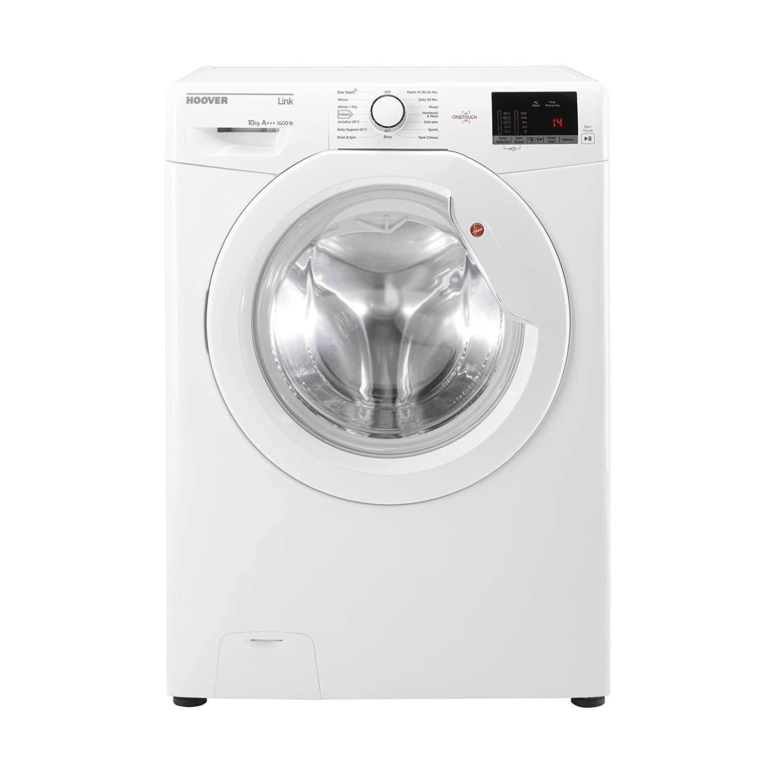 Hoover DHL14102D3 White Washing Machine with 10kg capacity