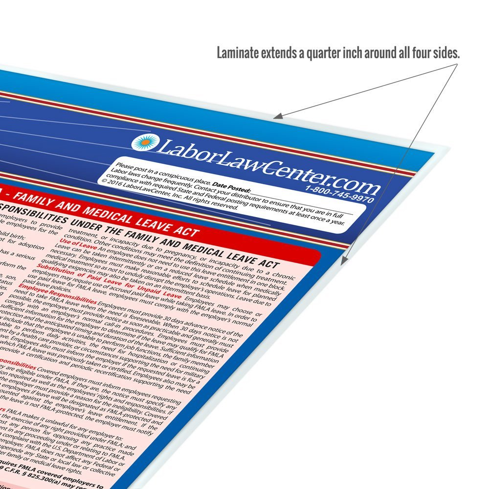 Tennessee Labor Law Poster State Federal Compliant - Tennessee legal forms