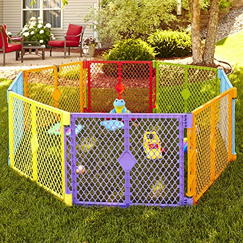 North States Superyard Colorplay 8 Panel Playard Buy