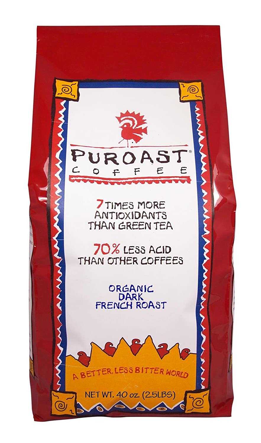 Puroast Low Acid Coffee Organic