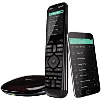 Logitech Harmony Elite Universal Remote Control with Hub and App (Black)