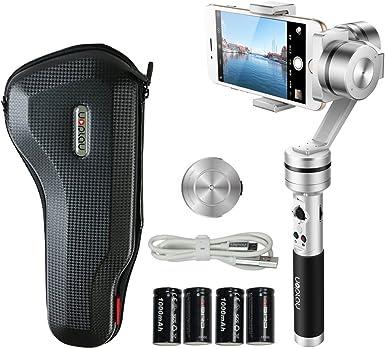 Uoplay 3 Axis Handheld Universal smartphone Steady Gimbal ...