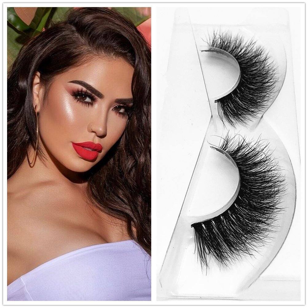 Amazon.com : Lashes Soft Thin Natural Style Mink 3D lashes ...