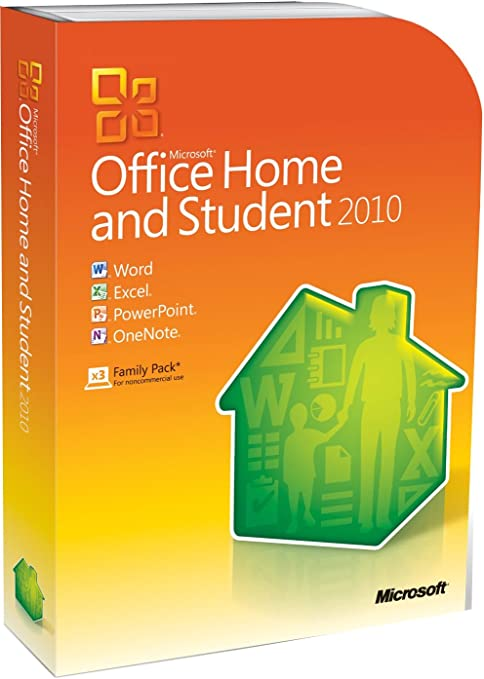 Microsoft Office Home And Student 2010 32-bit/X64 (versión en inglés) Intl DVD Retail: Amazon.es: Software