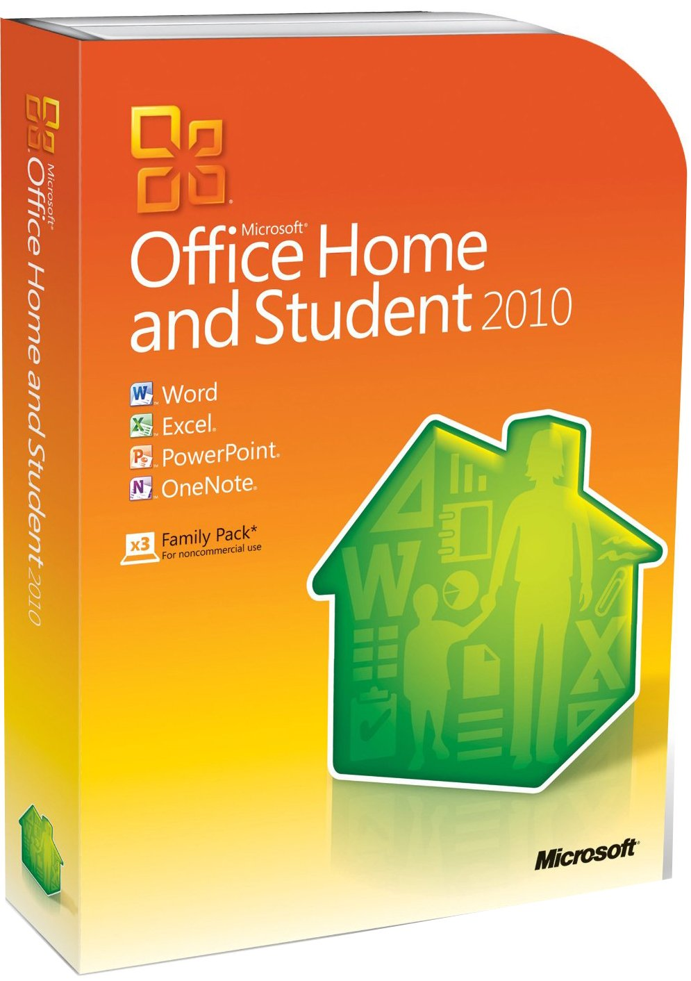 Microsoft Office Home and Student 2010 (3 Users, PC): Amazon.co.uk ...