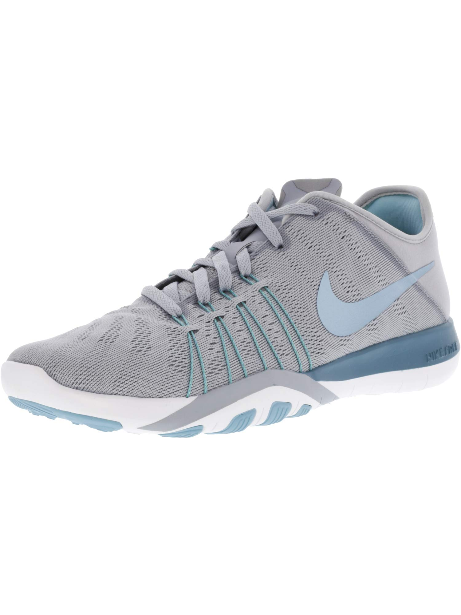 sneakers for cheap 14fb4 909a4 Galleon - Nike Womens Free TR 6 Training Shoe (8, WOLF GREY SMOKEY BLUE-MICA  BLUE-WHITE)