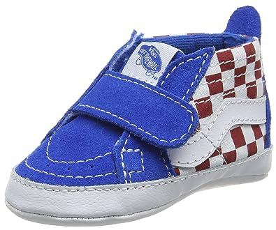 80995b1d9d4b7 Vans in SK8-Hi Crib Crawling Baby Shoes