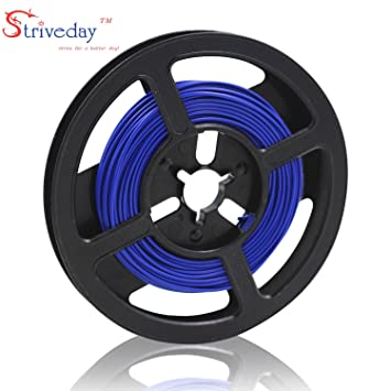 striveday ™ 1007 24 AWG Electric Wire 24 Gauge/AWG Electronic ...