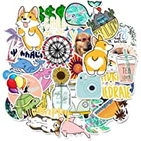 Mooremastle 50Pcs Cool Pet Graffiti Stickers para Equipaje Laptop Impermeable Decal Stickers ins Wind
