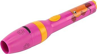 Ansmann linterna LED infantil niña rosa lámpara de proyector ...