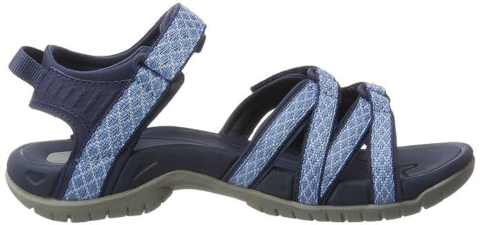Teva Damen Tirra W's Sandalen Trekking-& Wanderschuhe, Blau (Buena Bowder Blue Bprb), 38