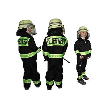 Feuerwehr-Kostüm Kinder Feuerwehr-Mann Fasching Karneval Kinder ...
