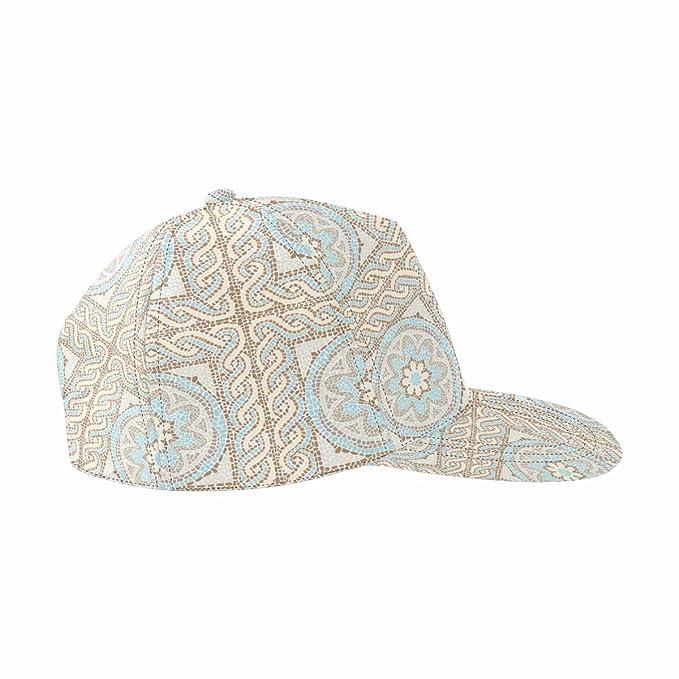 bcf72114ea9ad INTERESTPRINT Stock Antique Mosaic Classic Hip-Hop Sport Cap Adjustable  Snap-Back Hat