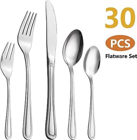 Acier inoxydable Couverts Table de salle à manger Forks Dinner Forks NEUF