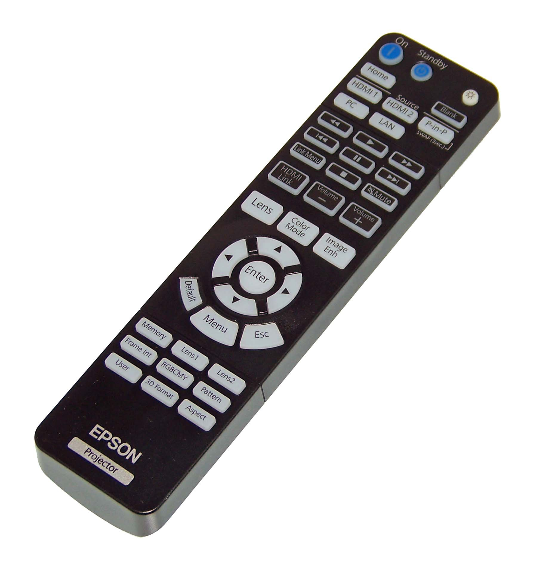 OEM Epson Projector Remote Control Shipped With Epson Home Cinema 4000, 5040UB, 5040UBe