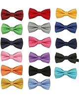 Garçons Kid enfants bébé coton pré-liés fête mariage Bow Tie cravate noeud papillon Fulltime®