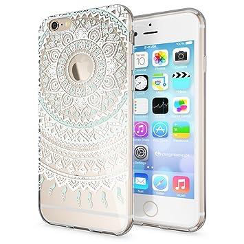 NALIA Funda Carcasa Compatible con iPhone 6 6S, Motivo Design Movil Protectora Ultra-Fina Silicona Cubierta, Gel Estuche Telefono Bumper Ligera Cover ...