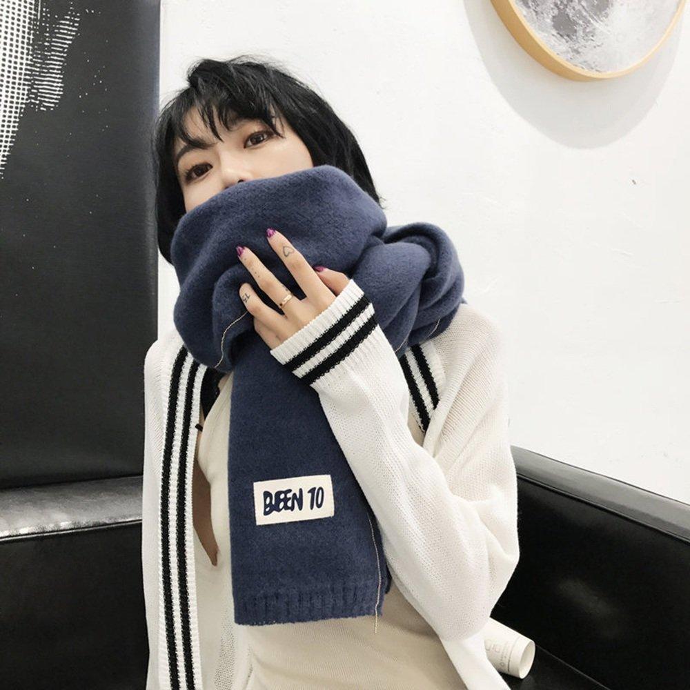 HAIZHEN alla moda alla moda Sciarpa a maglia colorata in sciarpa invernale Scialle invernale Primave...