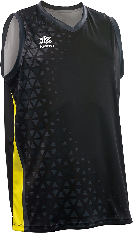 Luanvi Basket Cardiff Camiseta Deportiva sin Mangas de Baloncesto, Hombre: Amazon.es: Ropa y accesorios