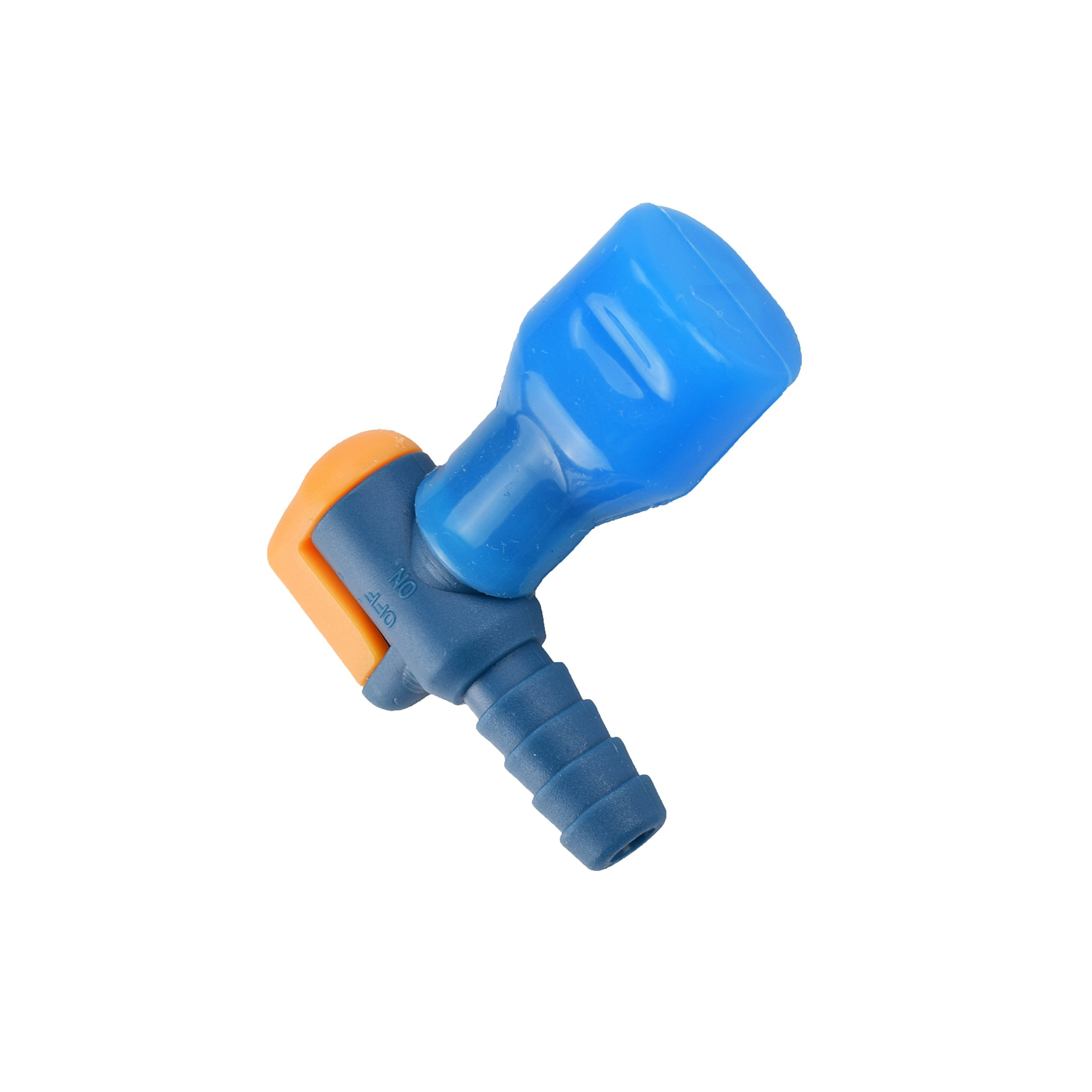 J. Carp ON-OFF Switch Bite Valve Tube Nozzle Replacement For Hydration Pack Bladder (Blue-90 degree)