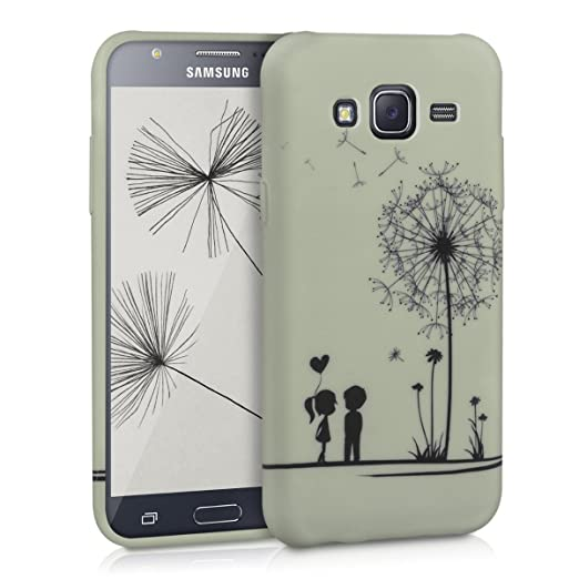 66 opinioni per kwmobile Cover per Samsung Galaxy J5 (2015)- Custodia in silicone TPU- Back case
