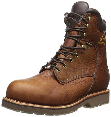 """Men's 8"""" Waterproof Steel Toe EH 25227 Boot"""