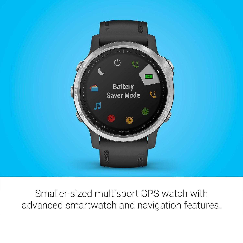 Garmin Fenix 6S, reloj GPS multideporte definitivo, tamaño ...