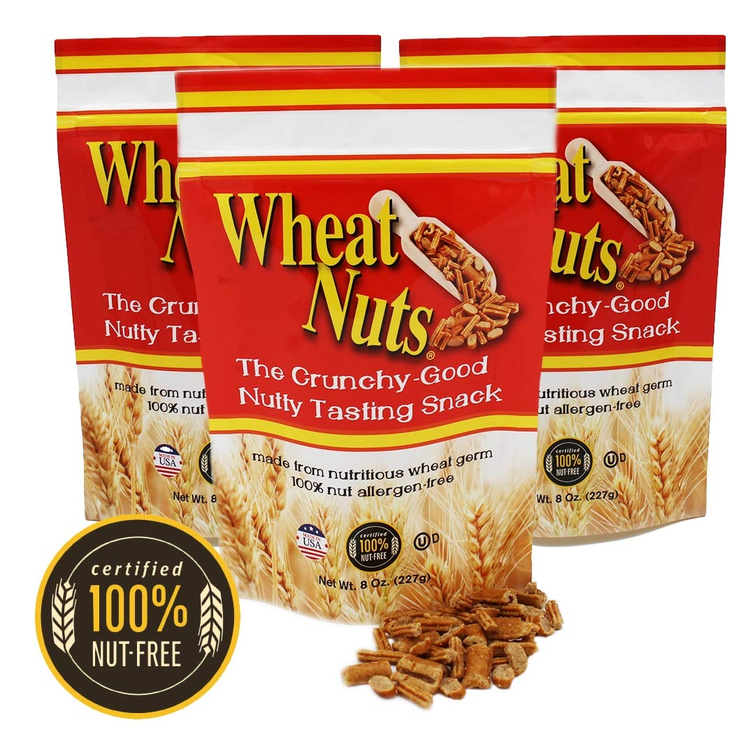 Wheat Nuts - Nut Free Snack! (3 pack) by Nadanut