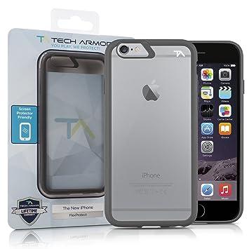 apple iphone 6 space grey. tech armor flexprotect case for apple iphone 6/6s (space grey-clear) iphone 6 space grey