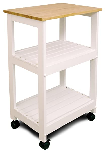 amazon com catskill craftsmen utility kitchen cart microwave stand