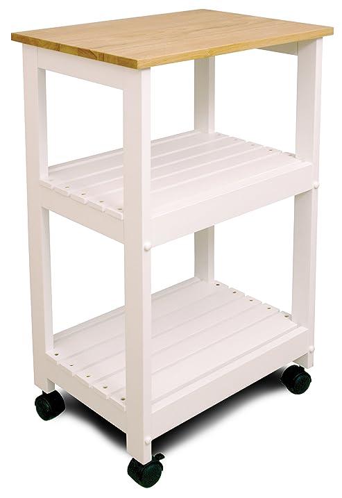 Amazon.Com - Catskill Craftsmen Utility Kitchen Cart/Microwave