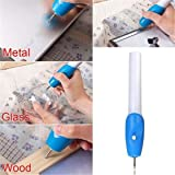 ULAKY Electric Etching Engraved Engrave Carve Tool Steel Jewellery Engraver Pen
